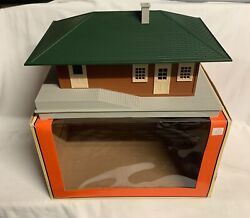 ✅lionel Operating Passenger Station W/ Sounds Accessory 6-37928 O Gauge Train