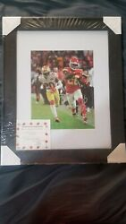 2020 Superbowl 54 Chiefs Vs. 49ers Damien Williams 8x10 Auto Pictures Certified