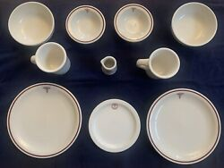 United States Army Medical Department 11 Pieces Ww2 Homer Laughlin Royal China