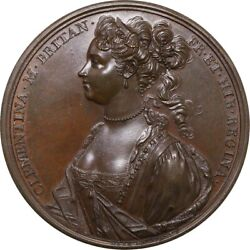 Medal Great Britain Italy 1719 Clementina Ngc Ms64bn