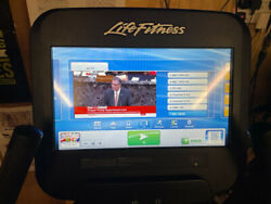 Life Fitness 95c Discover Se Exercise Bike With Huge 15andrdquo Touchscreen Console Etc