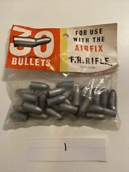 Vintage Airfix Toys Pack Of 30 Plastic Toy Bullets For Fn Rifle New Old Stock S6