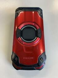Kyocera Flip Phone Torque X01 Red Kyf33 Wifi Tough Rugged Android Unlocked Used
