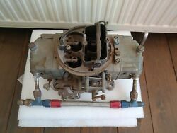 Used Carburetor Holley 4777-2 With A Power Plate From Weber With Fuel Line
