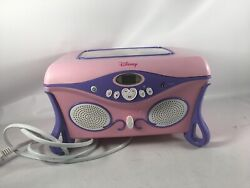 Disney Princess Jukebox Cd Player Jewelry Box Works And Sounds Great