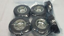 Rc Grand Hauler 1/14 Scale Complete Tractor Wheel Set