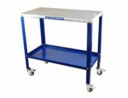 Kf3002 Portable Welding Table Wedling Cart Work Table W 5/8 /16mm Holes On Top