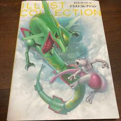 Used Pokemon Card Game Illust Collection Art Book Not With Cards