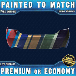 New Painted To Match Rear Bumper Replacement For 2007-2011 Toyota Camry Se 07-11