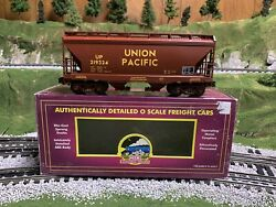 ✅mth Premier Union Pacific 2 Bay Centerflow Covered Hopper Car 20-97490 O Scale