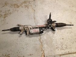 15 2015 Mercedes C Class Awd C300 C250 C350 Power Steering Rack And Pinion Oem