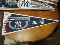 2006 New York Yankees East Division Champions Pennant