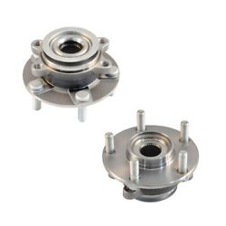2 Front Wheel Bearing Hub W/abs For 2008 - 2013 Nissan Rogue 14-15 Rogue Select