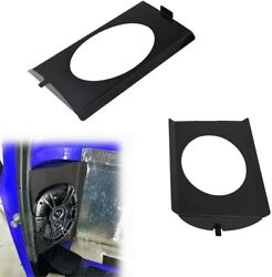 Behind Seat Speaker Brackets For 1973-1987 Chevy C10 Squarebody For 6x9 Speakers