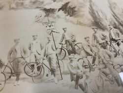 Antique Composite Photo, Temple Bicycle Club,mtl,qq,ca,1910,cycling.photog,rice