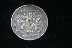 1994 Seagram Beverage Company And Co. Sterling Silver Medal Sbc2000