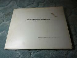 VINTAGE ARTISTS OF THE WESTERN FRONTIER 38 COLOR PLATES BOOK WYETH REMINGTON