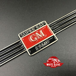 Gm Super Ray Guide Light Strap - Red Center With Black Band