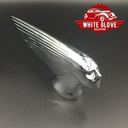 Victory Or Victoire French Chrome Hood Ornament For Vintage Nash Automobiles
