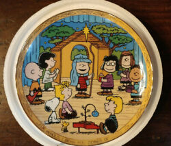 Peanuts Snoopy Danbury Mint Nativity Collector Plate New
