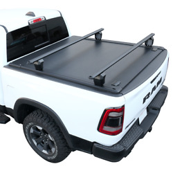 Fit 14-2021 Tundra 5.5ft Bed Tonneau Cover Retractable Waterproof Aluminum+rack