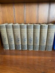 Duruy's History Of Rome, 1883. [8 Volumes Complete] Extremely Rare 138 Yrs Old