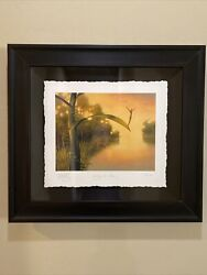 Vladimir Kush Waiting For Luck Giclee Archival Paper Framed With Coa Sold Out Ed