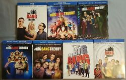 The Big Bang Theory Seasons 1 And 5-10. 14 Blu-ray Discs + 9 Dvds Like New