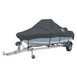 Classic Accessories Stormpro Heavy Duty Center Console Boat Cover For 22and039-24and039