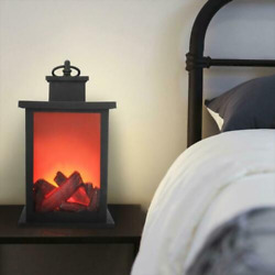 Portable Electric Fireplace Space Heater Log Flame Stove Free Standing Quality
