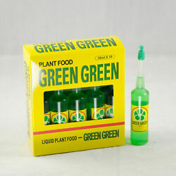10 Bottles Green Green Lucky Bamboo Plant Food And Fertilizer
