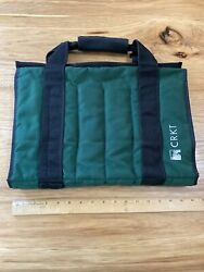1990s Crkt Knife Roll Case Holds 24 Knives Furry Lined Excellent Condition