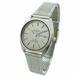 Omega Constellation Day-date Vintage Automatic Wristwatch Circa 1973