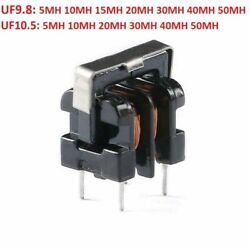 Vertical Uf9.8/uf10.5 Series Common Mode Choke Filter Inductor 5mh 10mh To 50mh