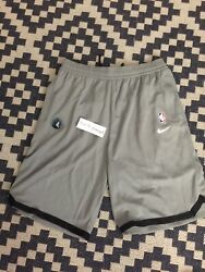 Nike Nba Player Issued Minnesota Timberwolves Practice Shorts Large Tall