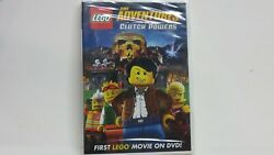 Lego: The Adventures of Clutch Powers DVD MOVIE New Factory Sealed Bonus Film $5.99