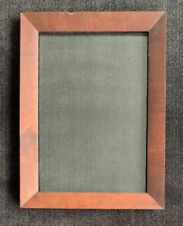 19th Century Picture Frame Fits 10 X 14 Mahogany