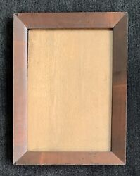 19th Century Mahogany Picture Frame Fits 10 X 14