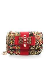 Christian Louboutin Sweet Charity Mini Python And Leather Shoulder Bag / Andpound1245