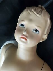 Vintage Toddler Boy Mannequin Store Display Size 3t Turning Wrist Beautiful