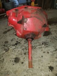 Massey Harris 44 Special Tractor Bellhousing Throw Out Imput Shaft Complete Mh