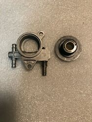 Redmax Gz3500t Chainsaw Oil Pump Assembly 521586001 New Oem