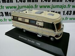 Cc2 1/43 Camping Cars Hachettes Mercedes Hymermobil Type 650 - 1985