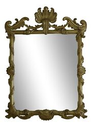 51368ec Entreeandrsquo Gold Decorated Chippendale Style Mirror