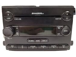 07-09 Ford Mustang Oem Shaker500 Radio Mp3 Aux 6 Disc Cd Changer Player Receiver