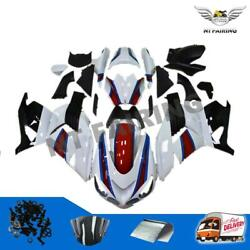 Fd White Fairing Fit For Kawasaki Ninja Zx14r 2006-2011 Injection Mold Abs D034