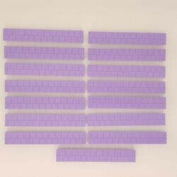 Lincoln Logs Purple Roof Slats Shingles Country Meadow Cottage Replacement Piece