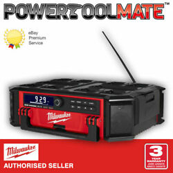 Milwaukee M18prcdab+ Packout Radio/charger Dab+ Available Now
