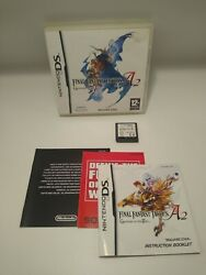 Final Fantasy Tactics A2 Grimoire Of The Rift + Manual + Inserts Fast Free Ship