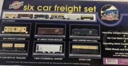 ✅mth Premier Chicago And Northwestern 6 Car Freight Set 20-90016 O Scale Candnw